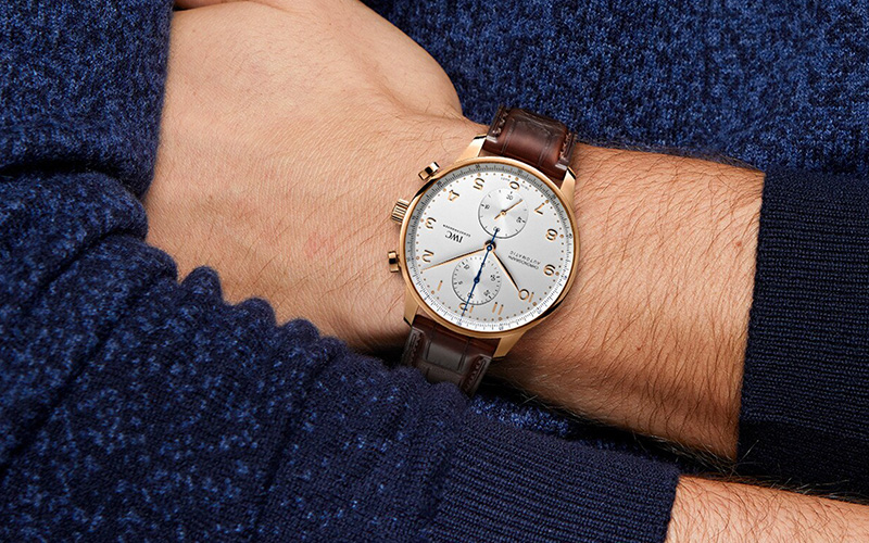 Feature - 0 PORTUGIESER CHRONOGRAPH IW371611