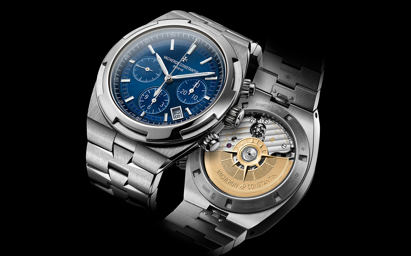 OVERSEAS CHRONOGRAPH 5500V/110A-B148 - feature